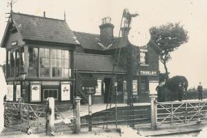 Thurlby Railway Station