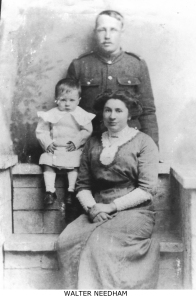 Walter Needham and Family named